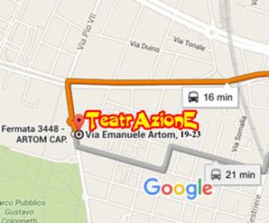 mappa TeatrAzionE