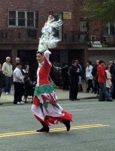 parata nel Bronx, Simona Rodano