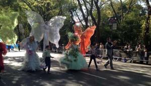 le Farfalle di TeatrAzionE al Columbus Day Parade di Manhattan