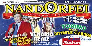 Alessandra e Fabio si esibiscono al circo di Nando Orfei