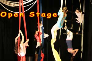 Open Stage (palco aperto)