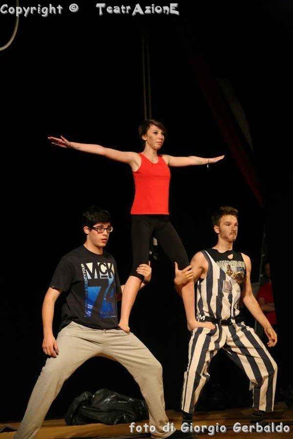 circo multilivello per giovani