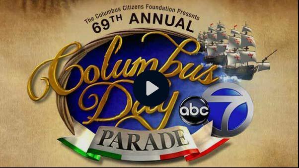 Columbus Day Parade 2013 ABC tv
